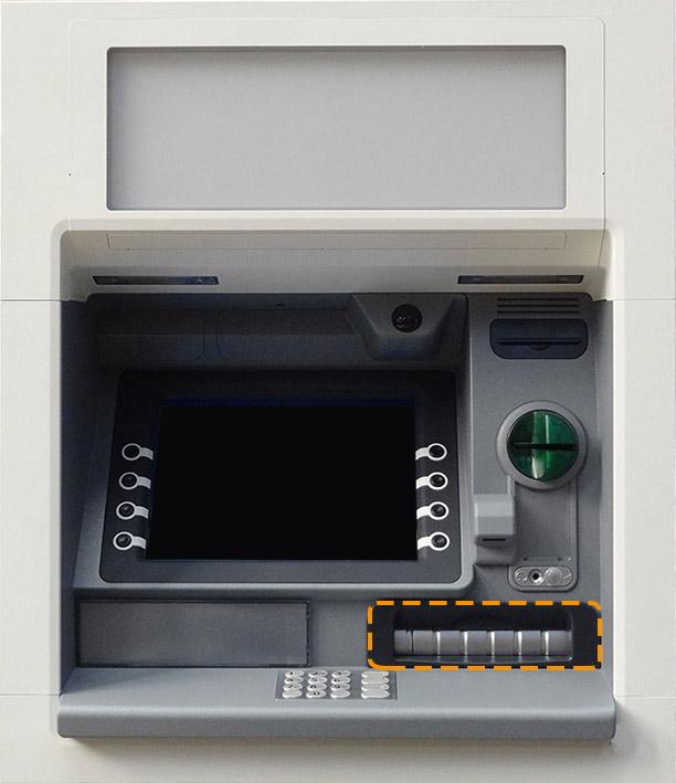 ATM shutter Bancomat